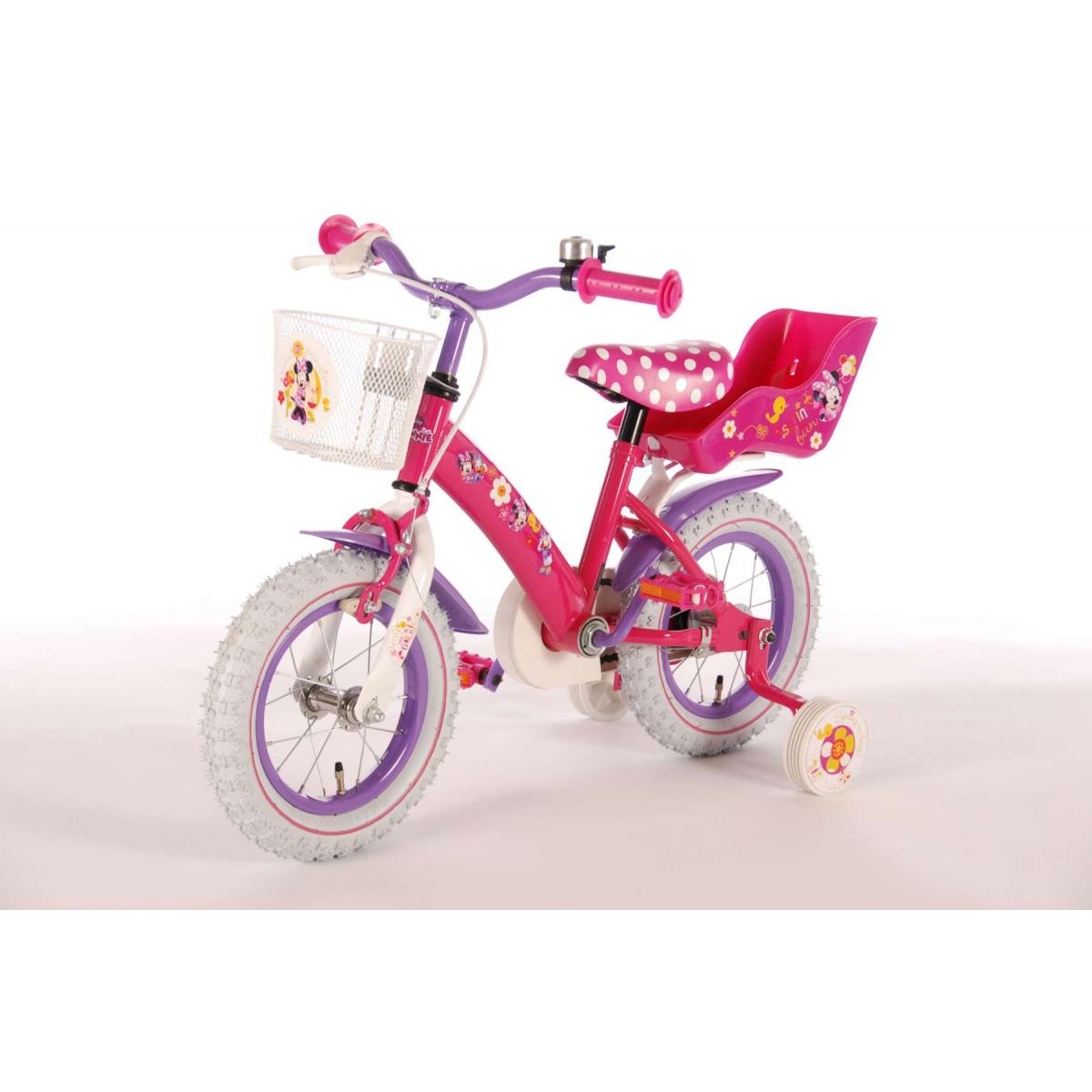 disney minnie mouse 12 zoll kinderfahrrad kinder fahrrad. Black Bedroom Furniture Sets. Home Design Ideas