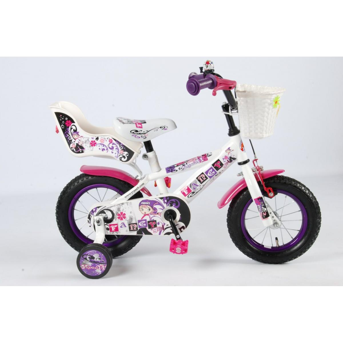 kinderfahrrad 12 zoll f r m dchen yipeeh fancy girl. Black Bedroom Furniture Sets. Home Design Ideas