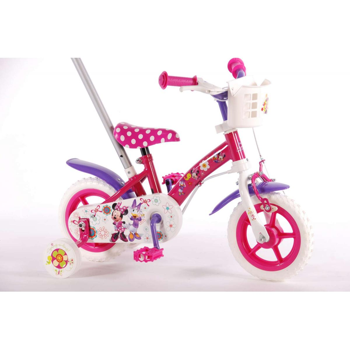 10 zoll kinderfahrrad disney minnie mouse kinder fahrrad. Black Bedroom Furniture Sets. Home Design Ideas
