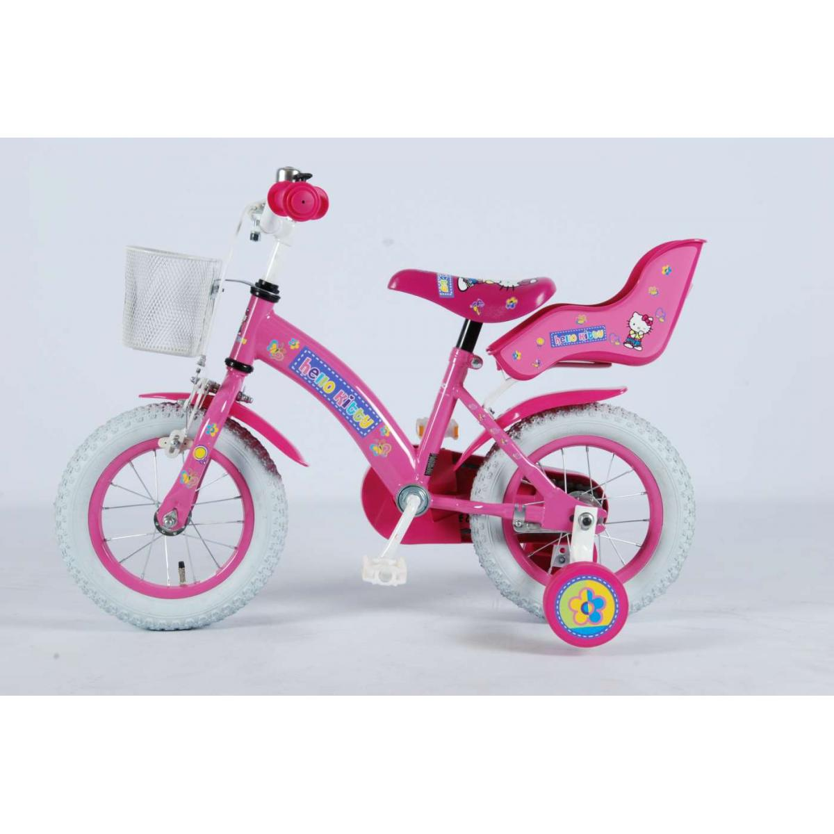 kinderfahrrad hello kitty jeans 12 zoll f r m dchen. Black Bedroom Furniture Sets. Home Design Ideas