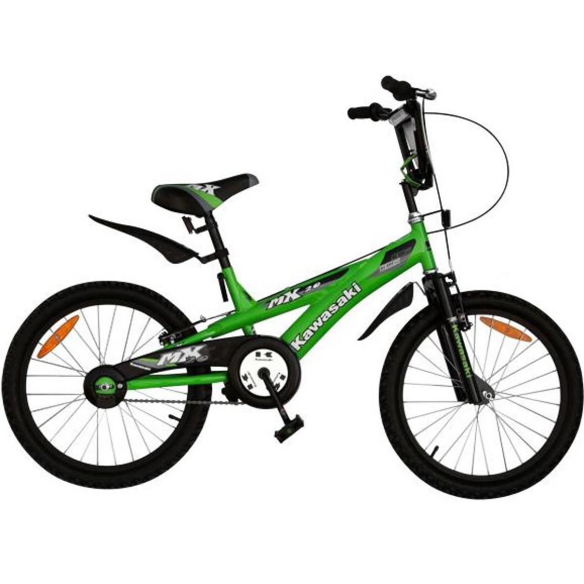 kinder fahrrad kawasaki dirt 16 zoll mx 16 kinderfahrrad bmx b ware ebay. Black Bedroom Furniture Sets. Home Design Ideas