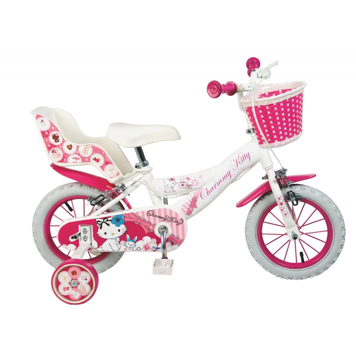 charmmy kitty kinderfahrrad 12 14 16 zoll kinder m dchen. Black Bedroom Furniture Sets. Home Design Ideas
