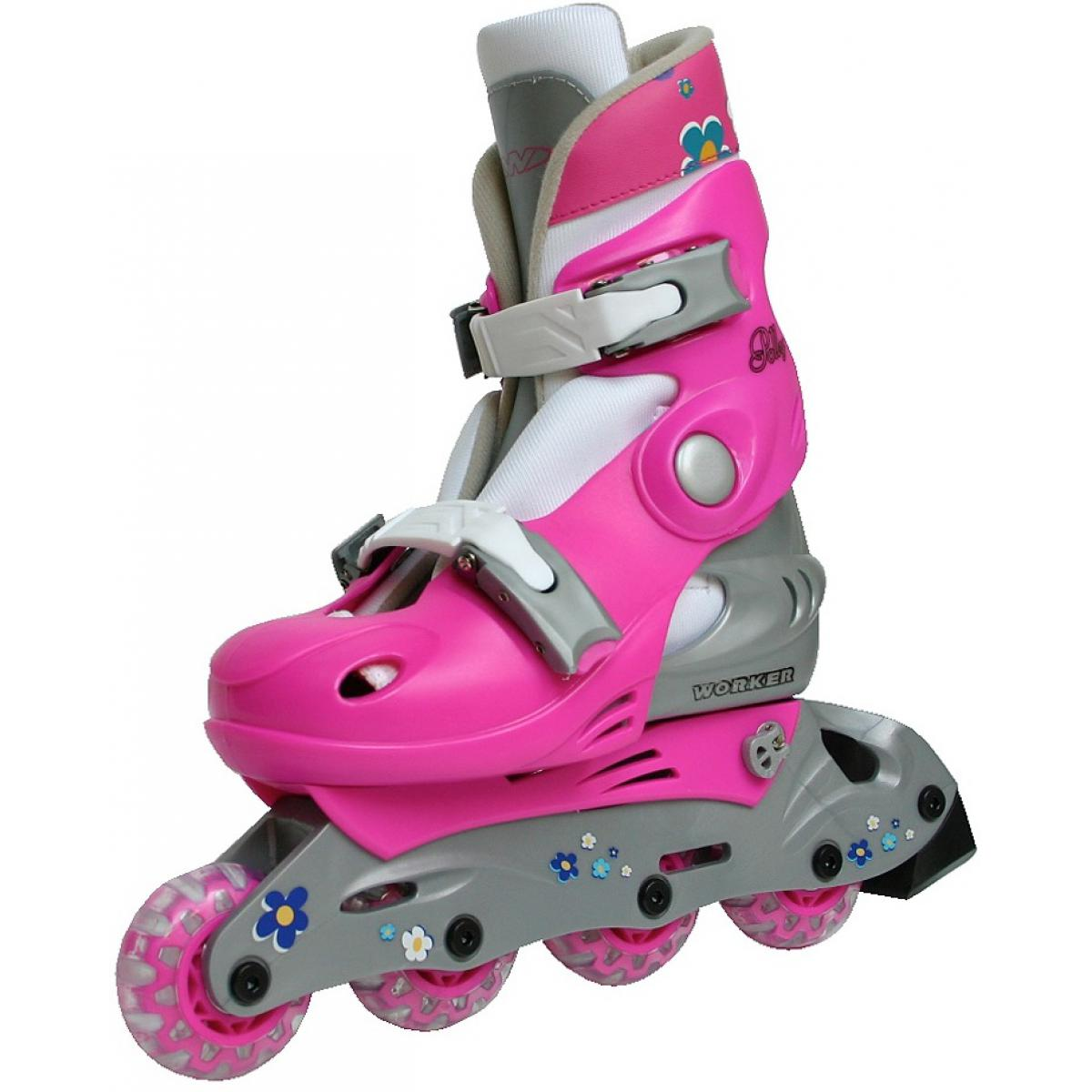 inline skates polly gr 30 33 verstellbar kinder inliner. Black Bedroom Furniture Sets. Home Design Ideas