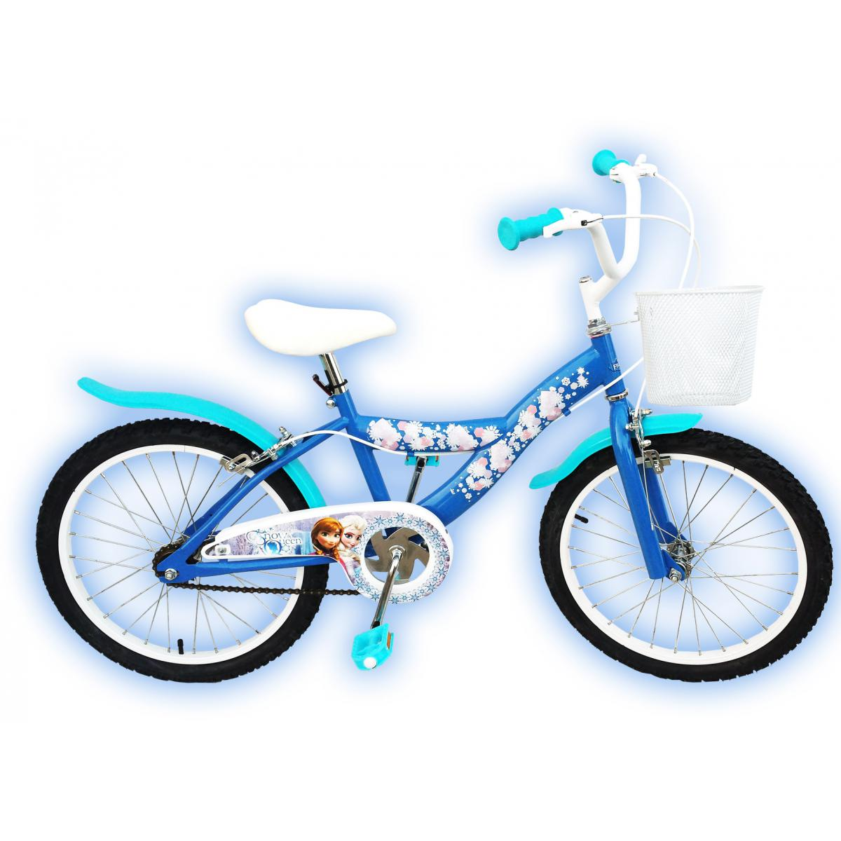 kinderfahrrad disney frozen die eisk nigin 12 14 16. Black Bedroom Furniture Sets. Home Design Ideas