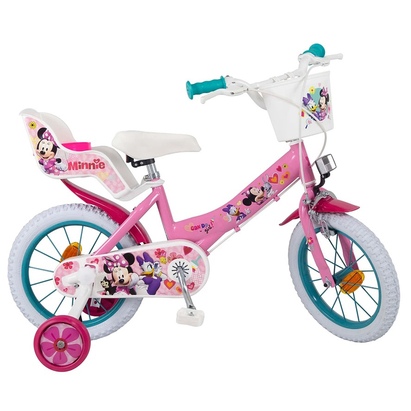 kinderfahrrad disney minnie 14 zoll 109 90. Black Bedroom Furniture Sets. Home Design Ideas