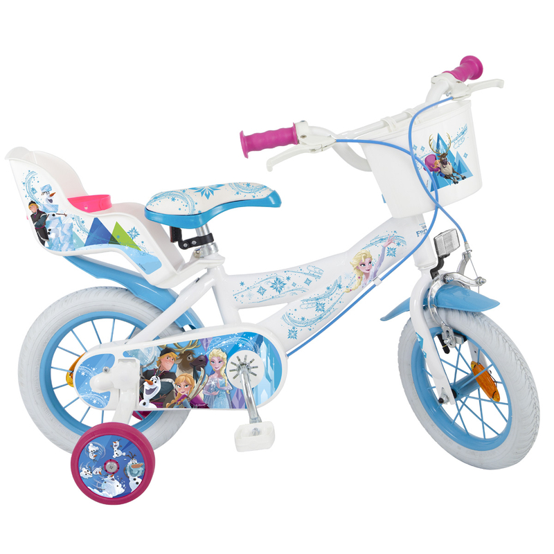 kinderfahrrad disney frozen 14 zoll m dchen 92 90. Black Bedroom Furniture Sets. Home Design Ideas