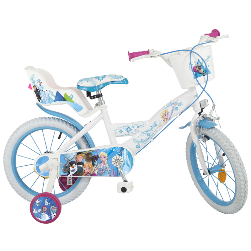 kinderfahrrad disney frozen 16 zoll m dchen 112 90. Black Bedroom Furniture Sets. Home Design Ideas