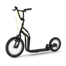 Yedoo City Scooter RunRun 16 / 12 Zoll schwarz V-Brake...
