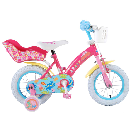 kinderfahrrad peppa pig 12 zoll fahrrad mit. Black Bedroom Furniture Sets. Home Design Ideas