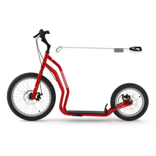 Dogscooter Yedoo Mezeq Scooter RunRun 20 / 16 Zoll rot...