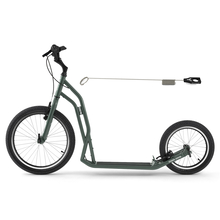 Dogscoooter Yedoo Steel S2016 Tretroller 20 / 16 Zoll...