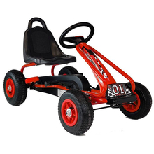 Kinder Go Kart Full Speed Red Racer Tretauto Gokart m....