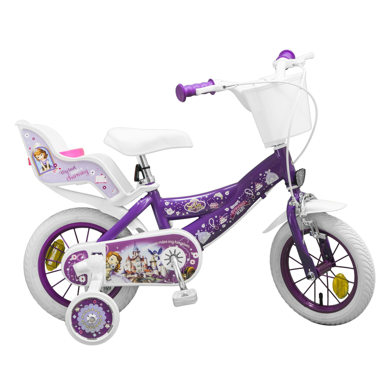 kinderfahrrad disney prinzessin sofia die erste 12 zoll. Black Bedroom Furniture Sets. Home Design Ideas