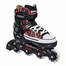 Inlineskates REBEL PP Black Canvas - schwarz verstellbare...