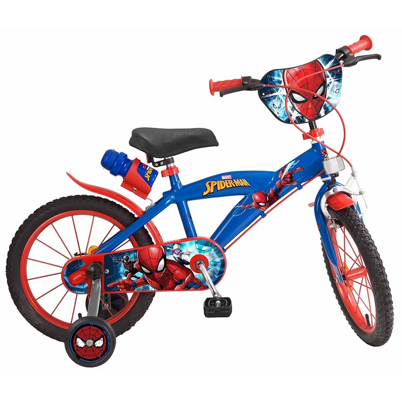 kinderfahrrad marvel spiderman 16 zoll 109 90. Black Bedroom Furniture Sets. Home Design Ideas