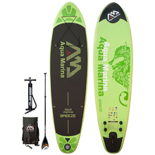 Aqua Marina Breeze SUP - inflatable Stand Up Paddle Board...