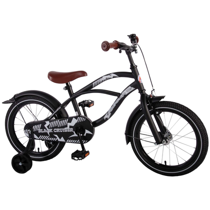 kinderfahrrad volare black cruiser 16 zoll mit. Black Bedroom Furniture Sets. Home Design Ideas