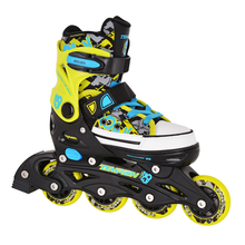 Inlineskates REBEL NOW Black Canvas - verstellbar Gr....
