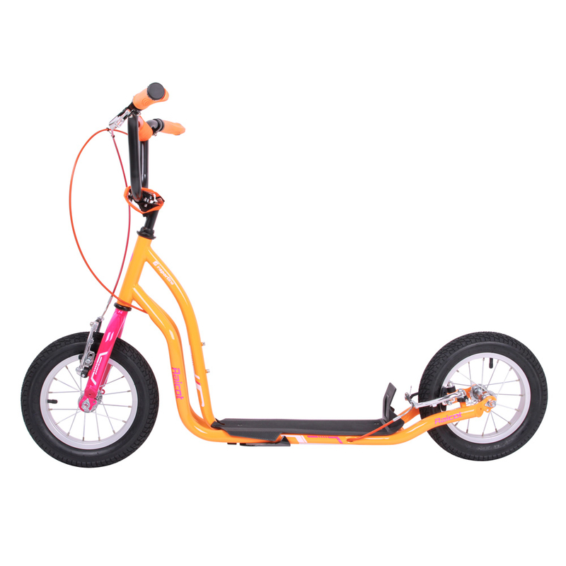 worker city roller raicot se 12 zoll scooter pink orange. Black Bedroom Furniture Sets. Home Design Ideas